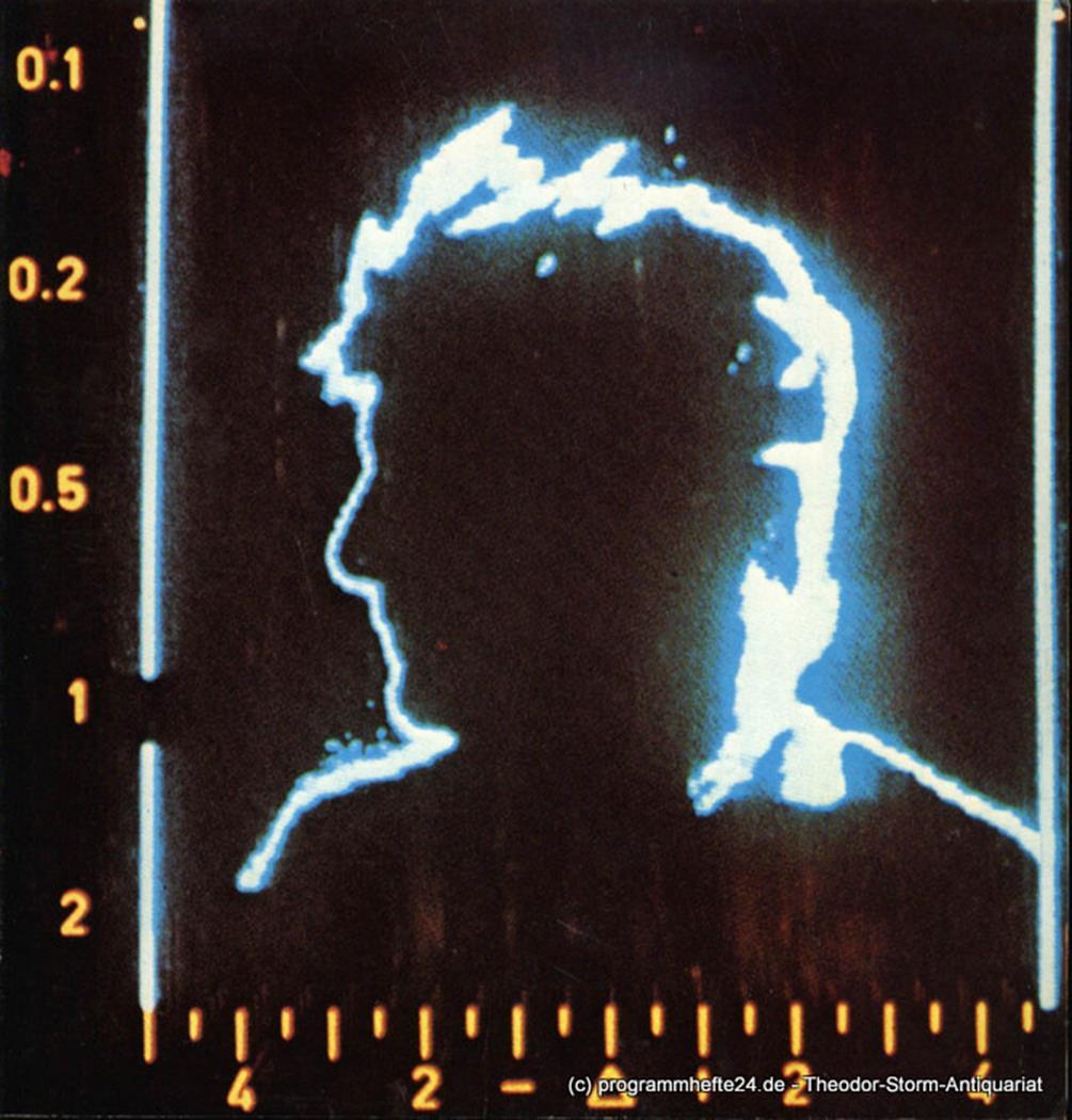 Programmheft zur Premiere Wozzeck am 5. April 1981 Hamburgische Staatsoper, Chri