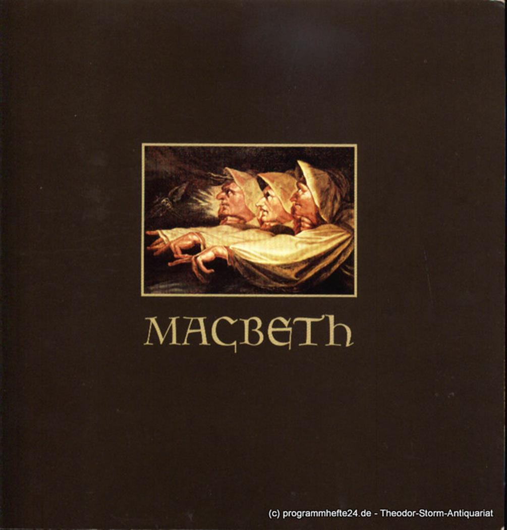 Programmheft Macbeth. Premiere 10. Februar 1980 Hamburgische Staatsoper, Christo