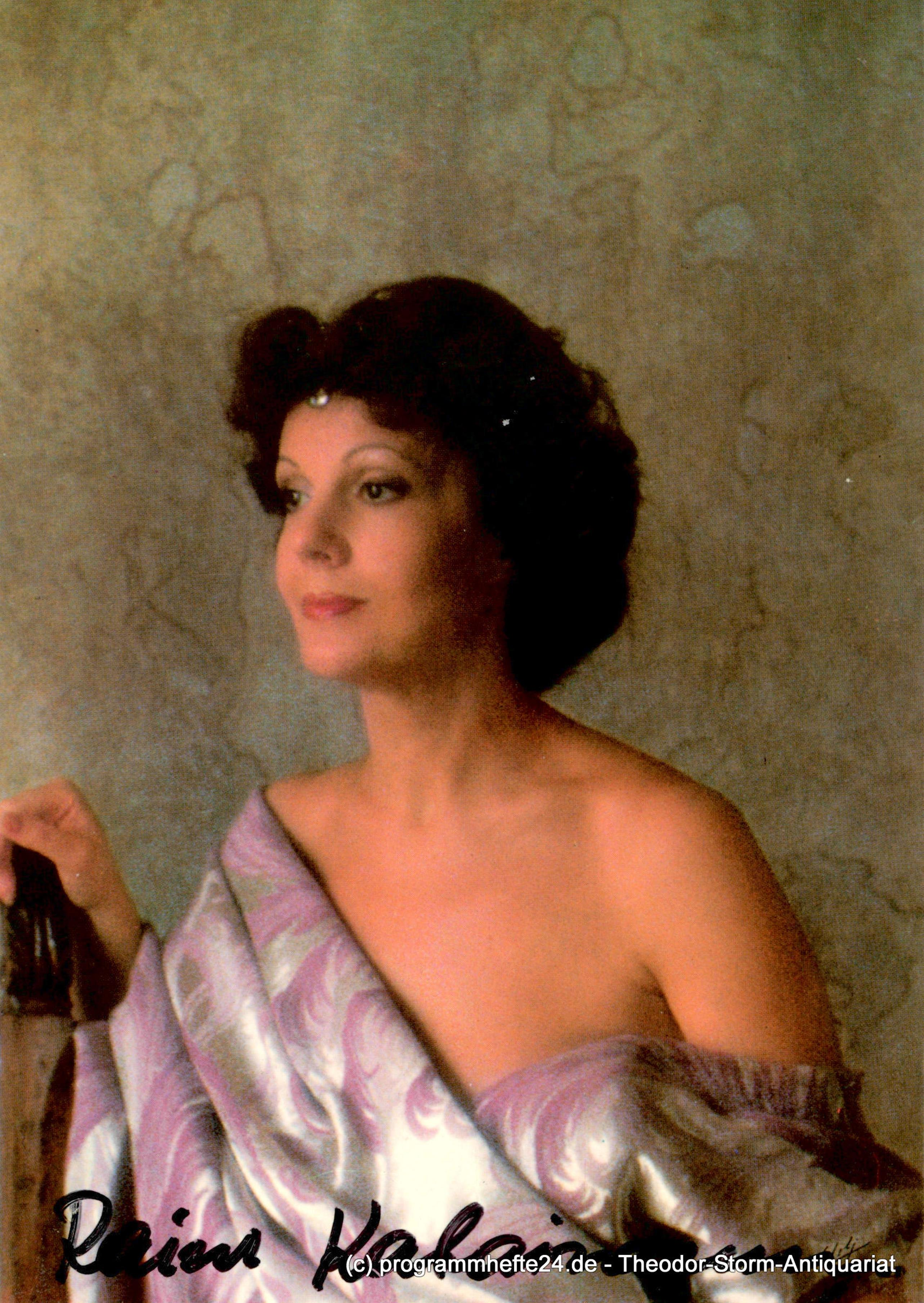 Autogrammkarte Raina Kabaivanska Opernsängerin signiert Sängerin Oper Sopran