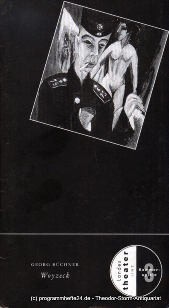 Programmheft Woyzeck. Fragment von Georg Büchner. Premiere 23. Februar 1997. Spi