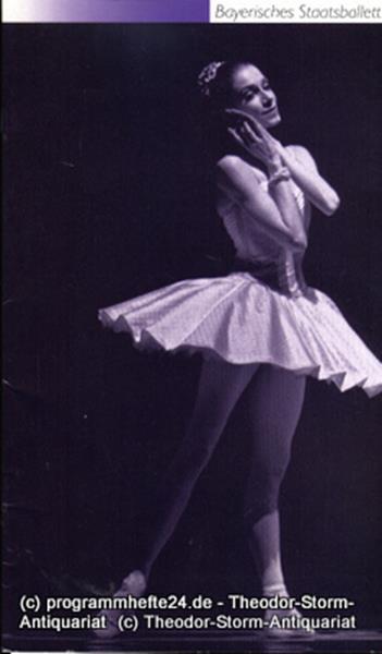 Programmheft zu Cinderella Ballett in drei Akten op. 87 von Sergej Prokofieff. S