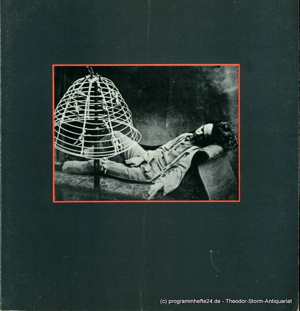 Programmheft zur Premiere Hoffmanns Erzählungen am 24. Mai 1981 Hamburgische Sta