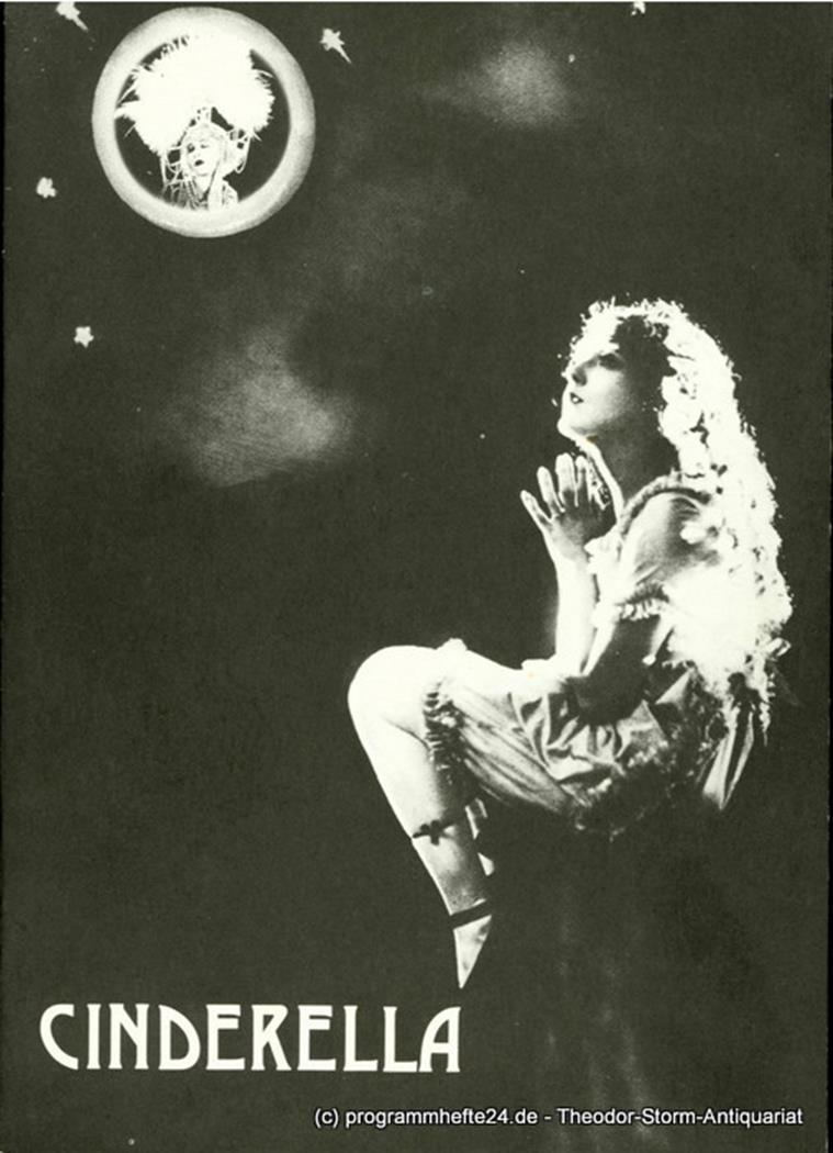 Programmheft zur Premiere Cinderella, Ballett von Roberto Trinchero, am 25. Deze