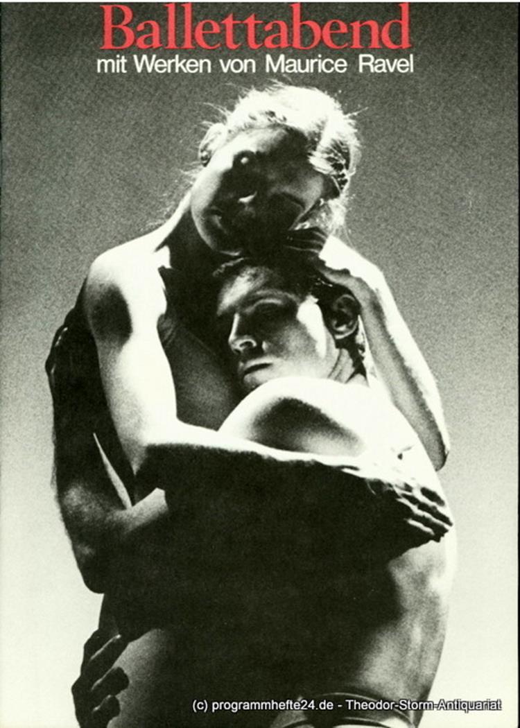 Programmheft zur Premiere des Ballettabends Rencontre 7 Die Zeremonie / Daphnis