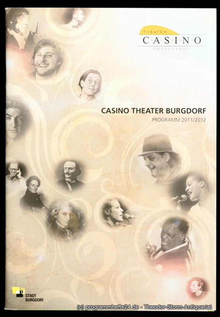 Programmheft Casino Theater Burgdorf 2011 / 2012 Casino Theater Burgdorf, Peter