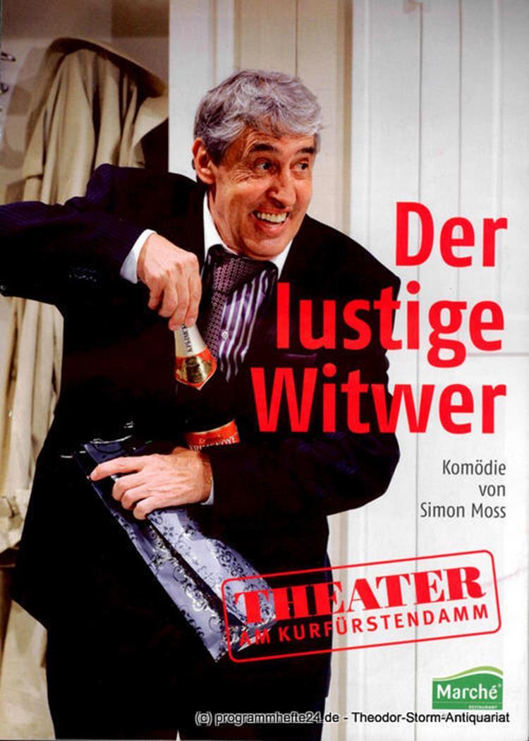 Programmheft Der lustige Witwer. Komödie von Simon Moss. Premiere 30. Januar 201
