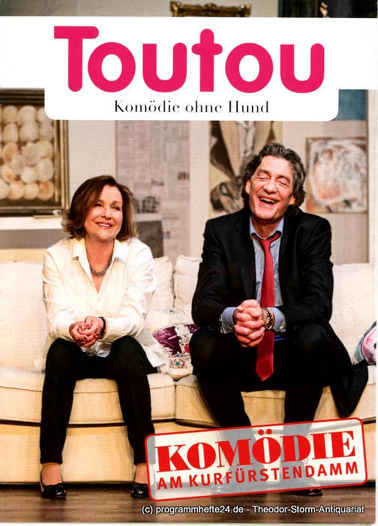 Programmheft Toutou. Komödie ohne Hund von Daniel Besse und Agnes Tutenuit. Prem