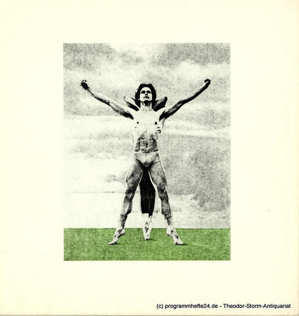 Programmheft  Lieb' und Leid und Welt und Traum. Ballett von John Neumeier 1980