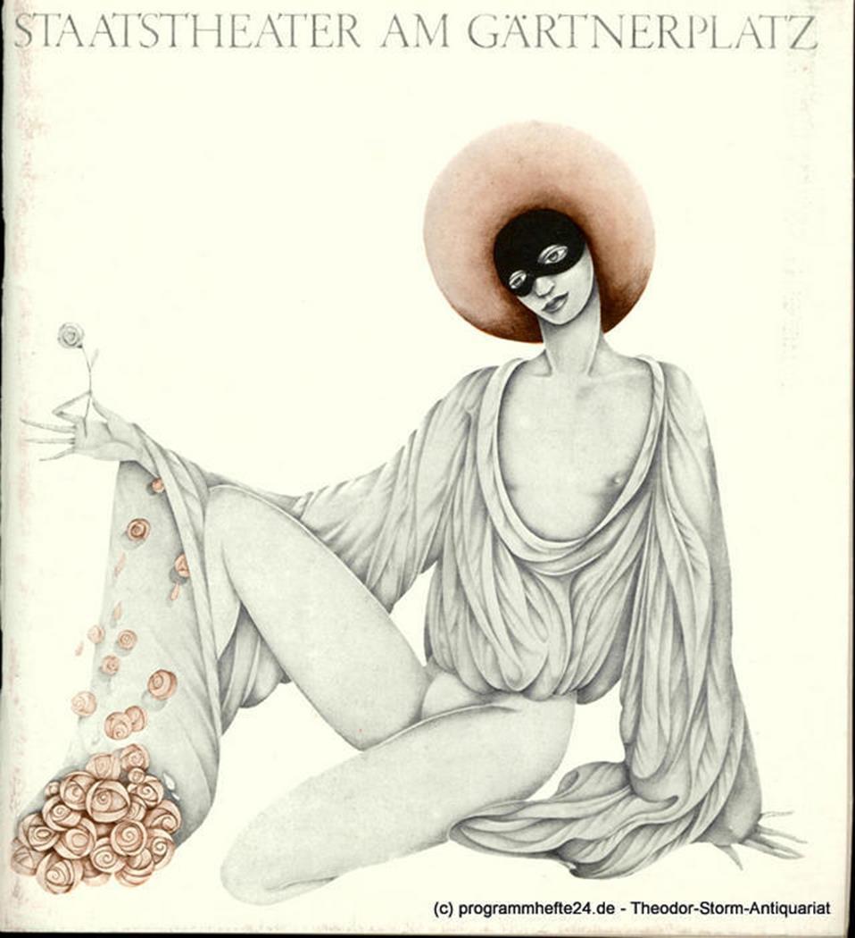 Programmheft DON QUIXOTE. Ballett von Marius Petipa. München 1980