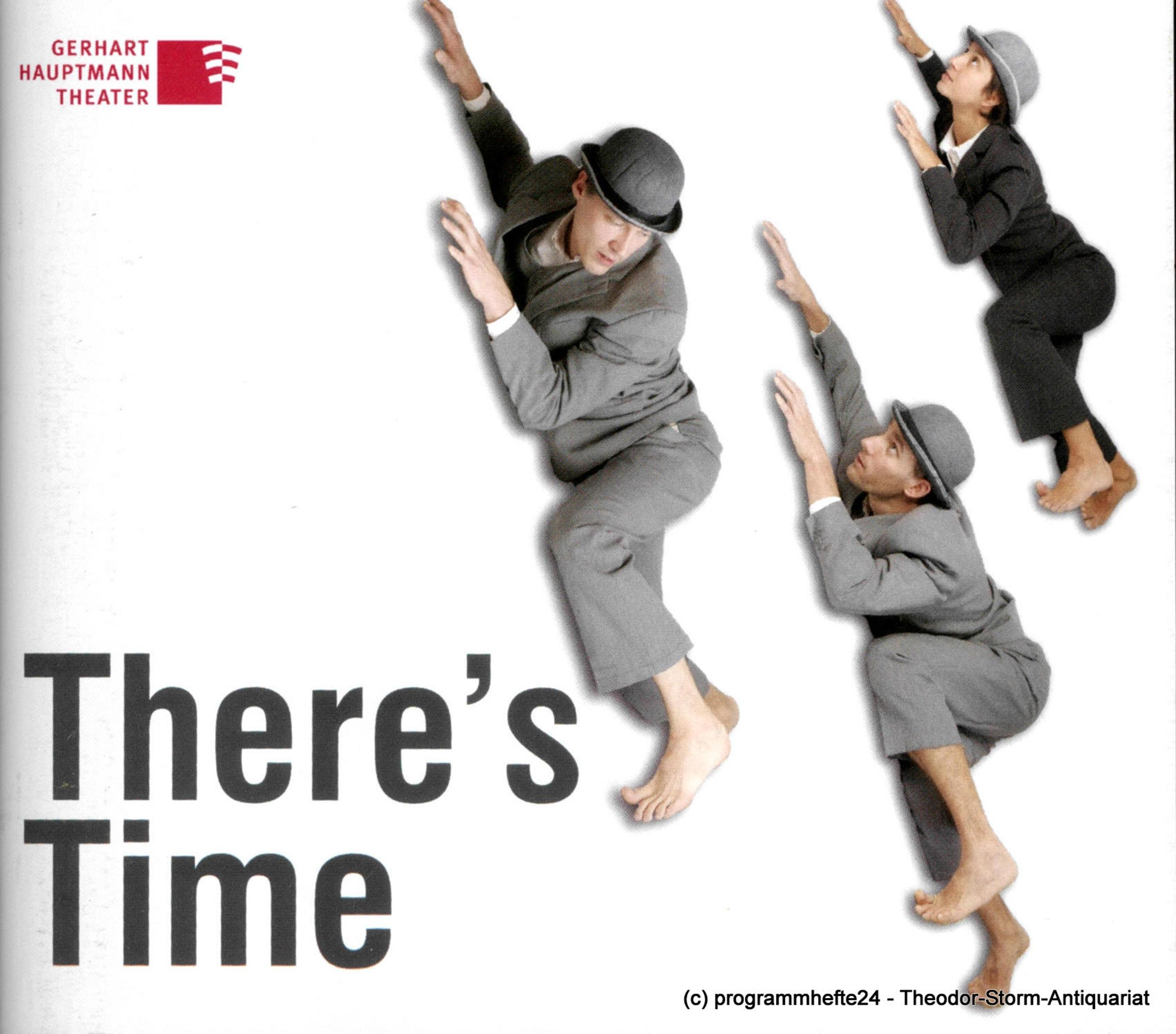 Programmheft There´s Time. Tanzstück von Pelleg und Weigert Görlitz 2013