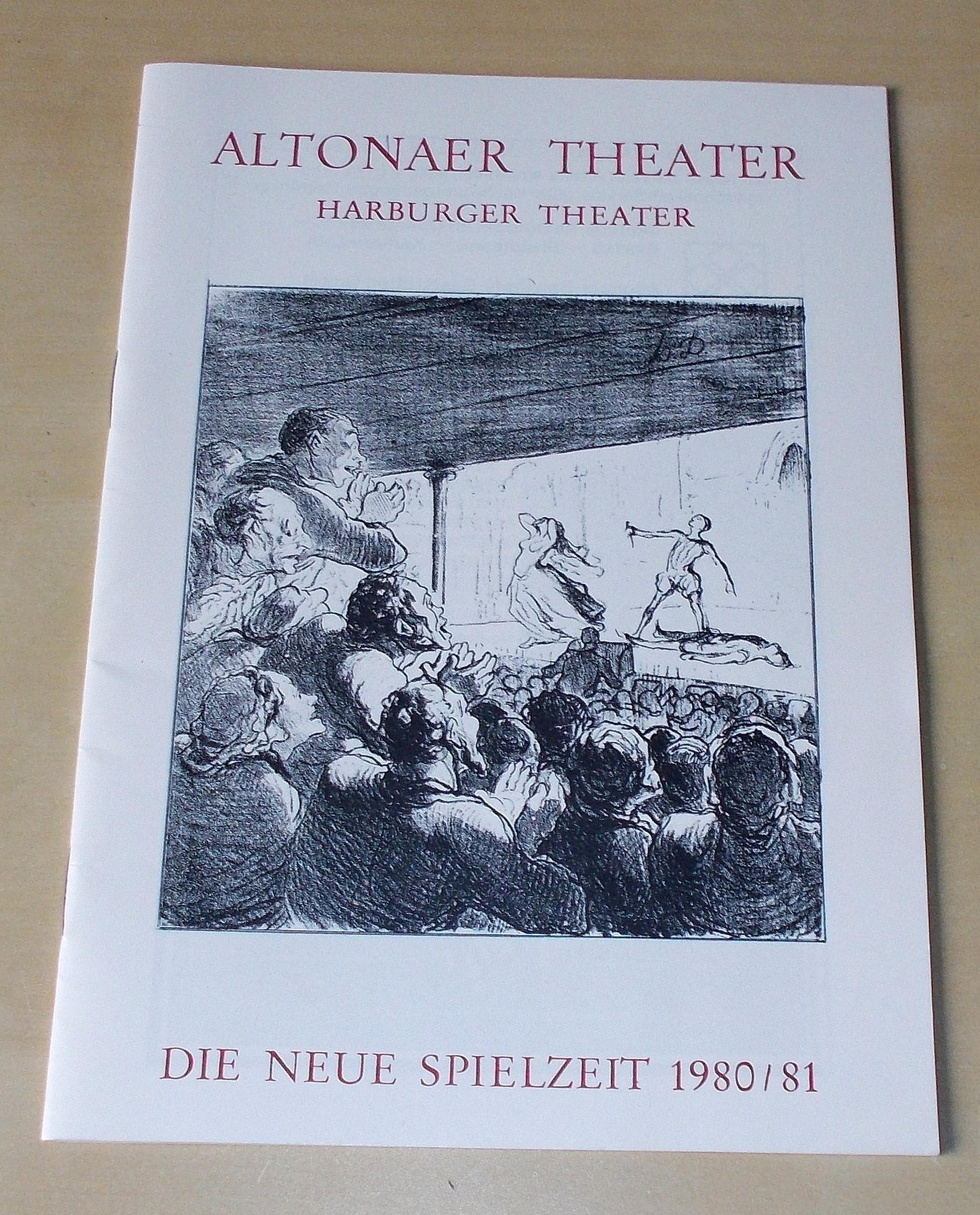 Programmheft Die neue Spielzeit 1980 / 81 Altonaer Theater
