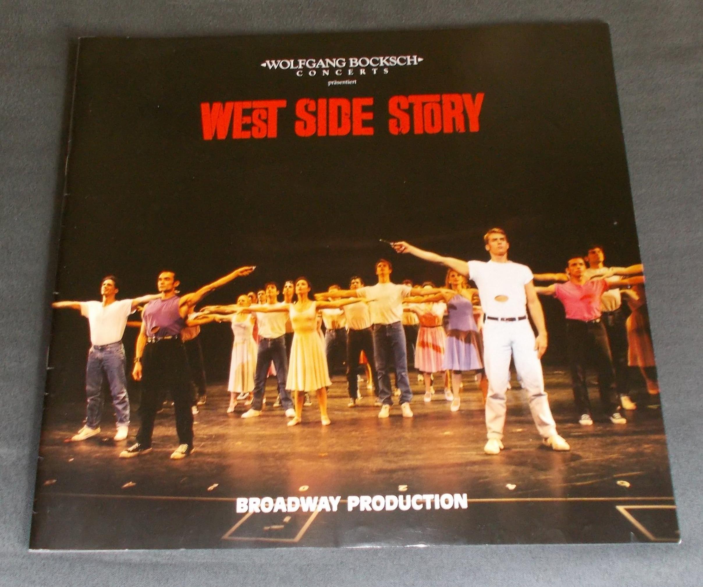 Programmheft WEST SIDE STORY. Broadway Production Wolfgang Bocksch