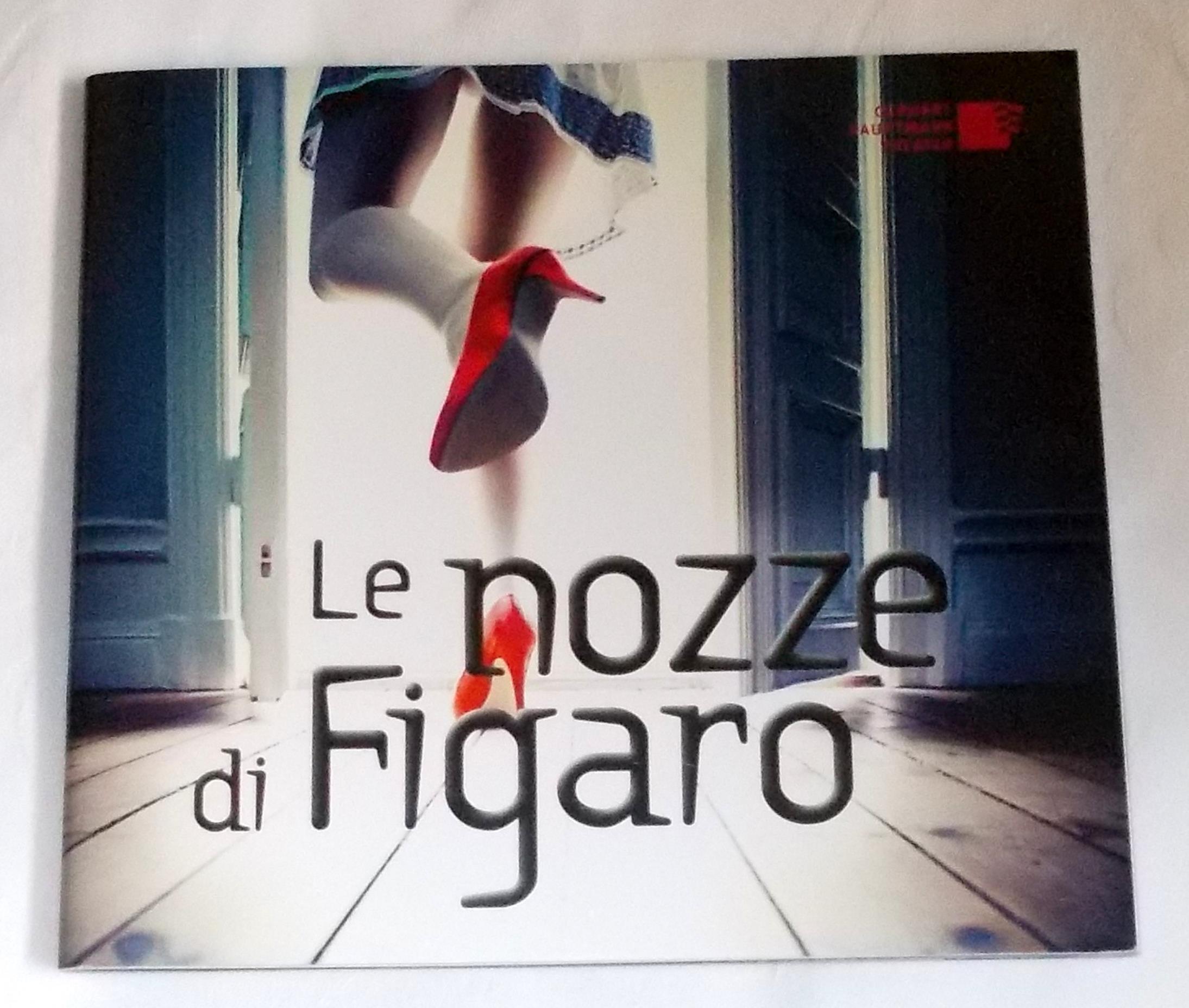 Programmheft Le nozze di Figaro. Gerhart Hauptmann Theater, Görlitz-Zittau 2013