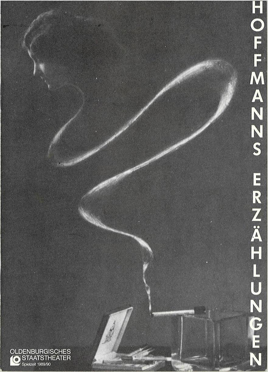 Programmheft Großer Ballettabend Hoffmanns Erzählungen Oldenburg 1990