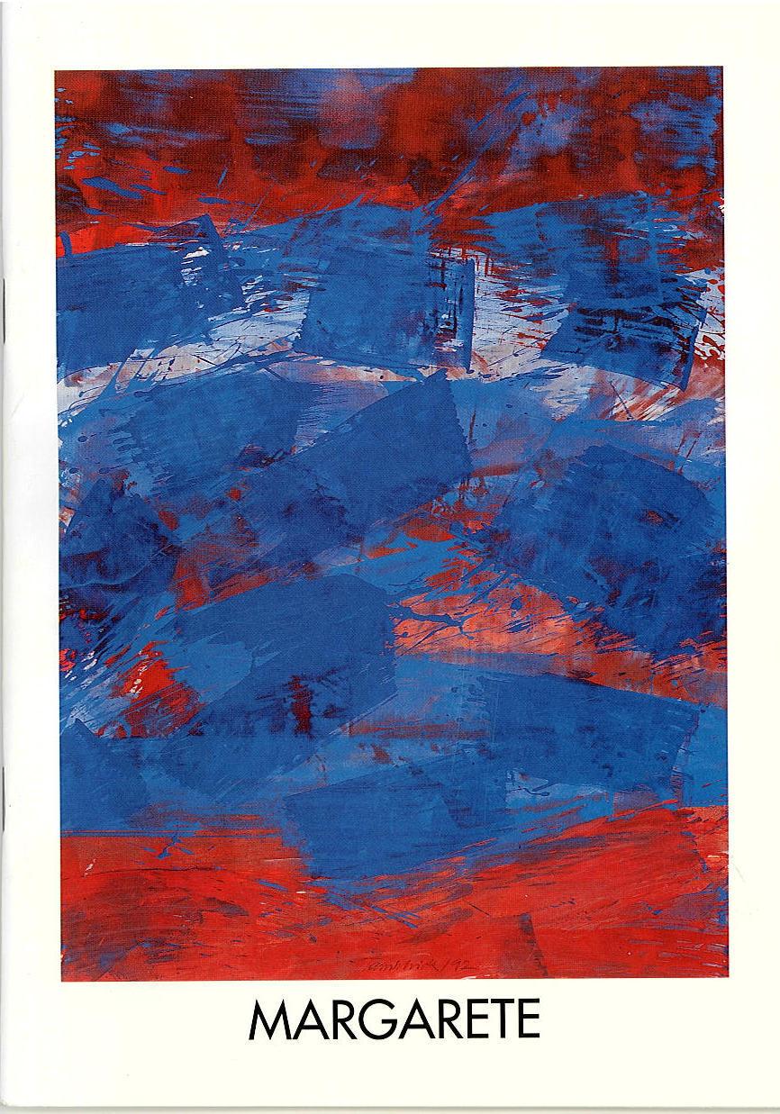 Programmheft Margarete. Oper von Charles Gounod. Oldenburg 1992