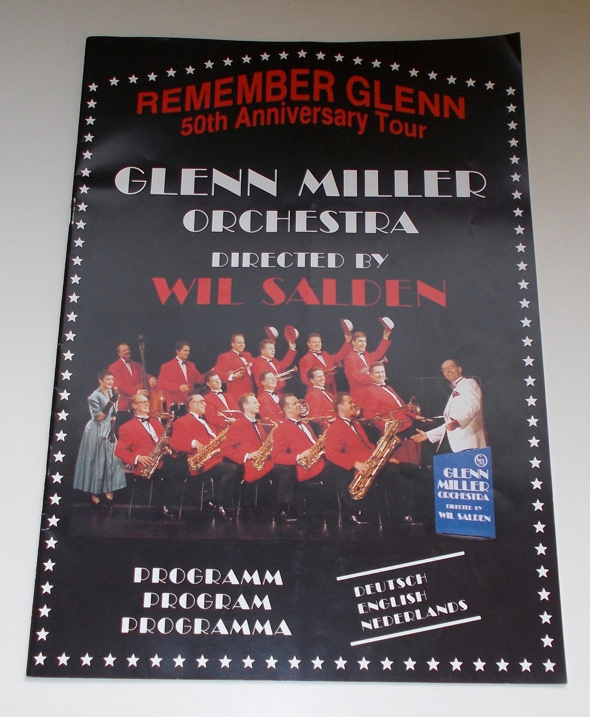 Programmheft Glenn Miller Orchestra Remember Glenn 50th. Anniversary Tour