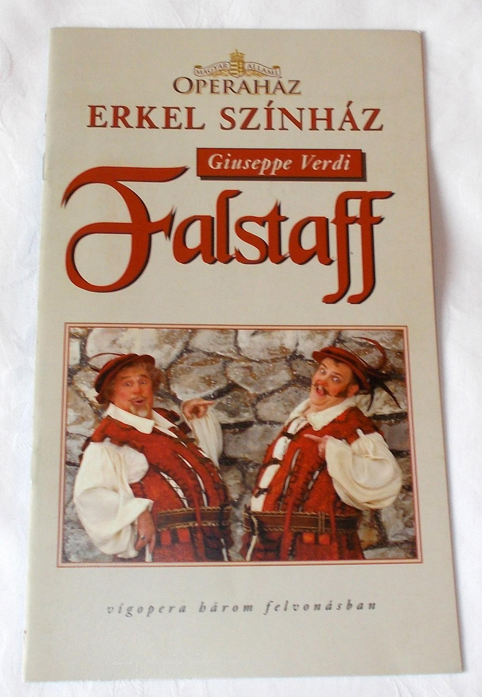 Programmheft Szerelmi bajital Der Liebestrank Gaetano Donizetti Budapest 2000