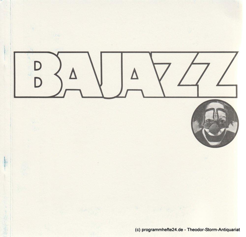 Programmheft Cavalleria rusticana - Bajazzo Oper Frankfurt 1975