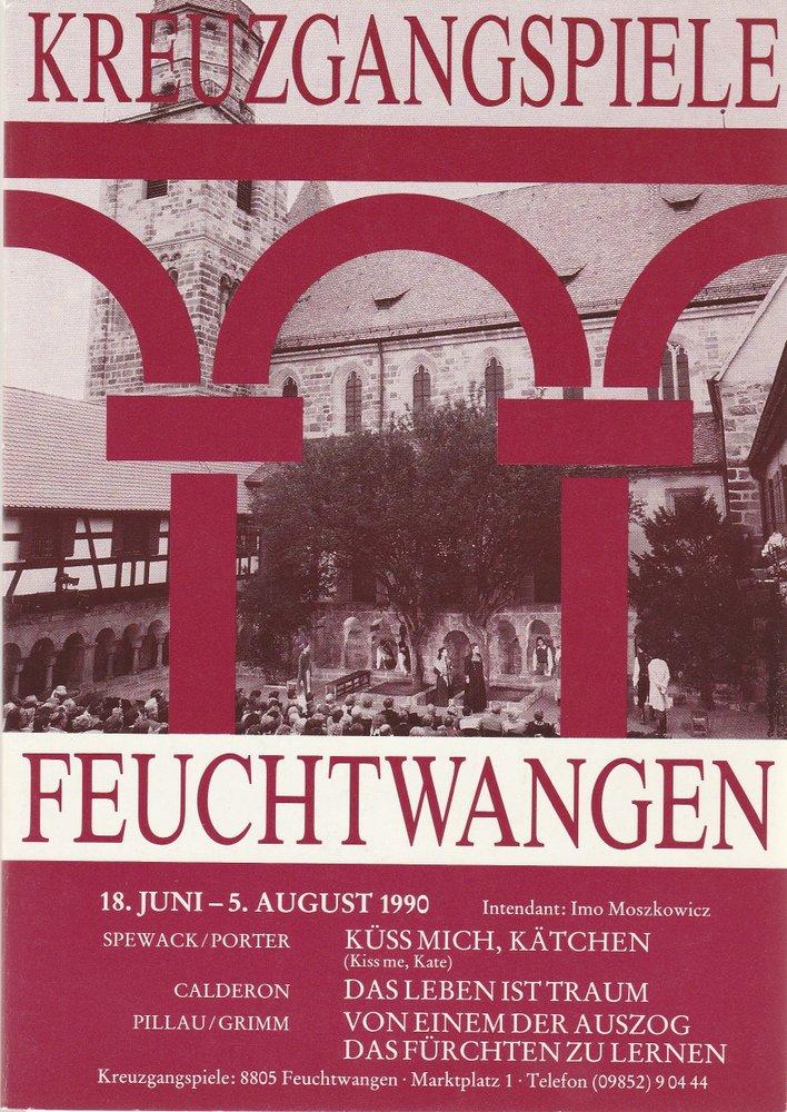 Programmheft KREUZGANGSPIELE FEUCHTWANGEN 18. Juni bis 5. August 1990