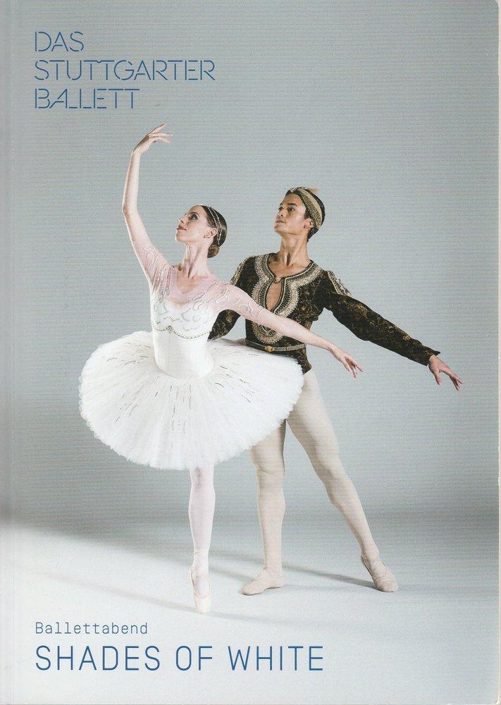 Programmheft Ballettabend SHADES OF WHITE Stuttgarter Ballett 2018