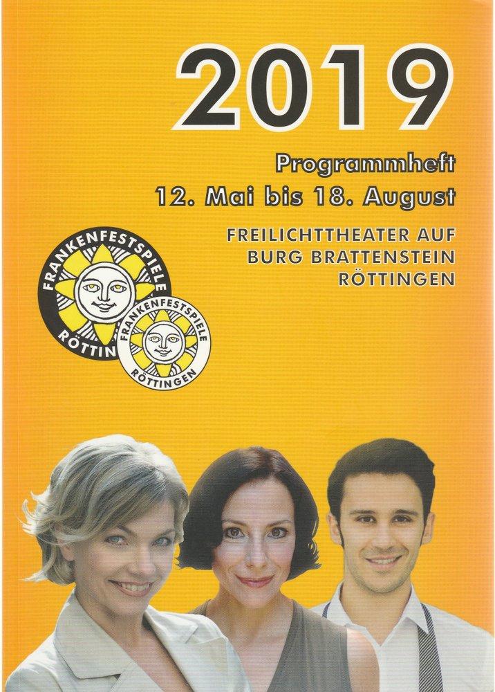 Programmheft FRANKENFESTSPIELE RÖTTINGEN 2019