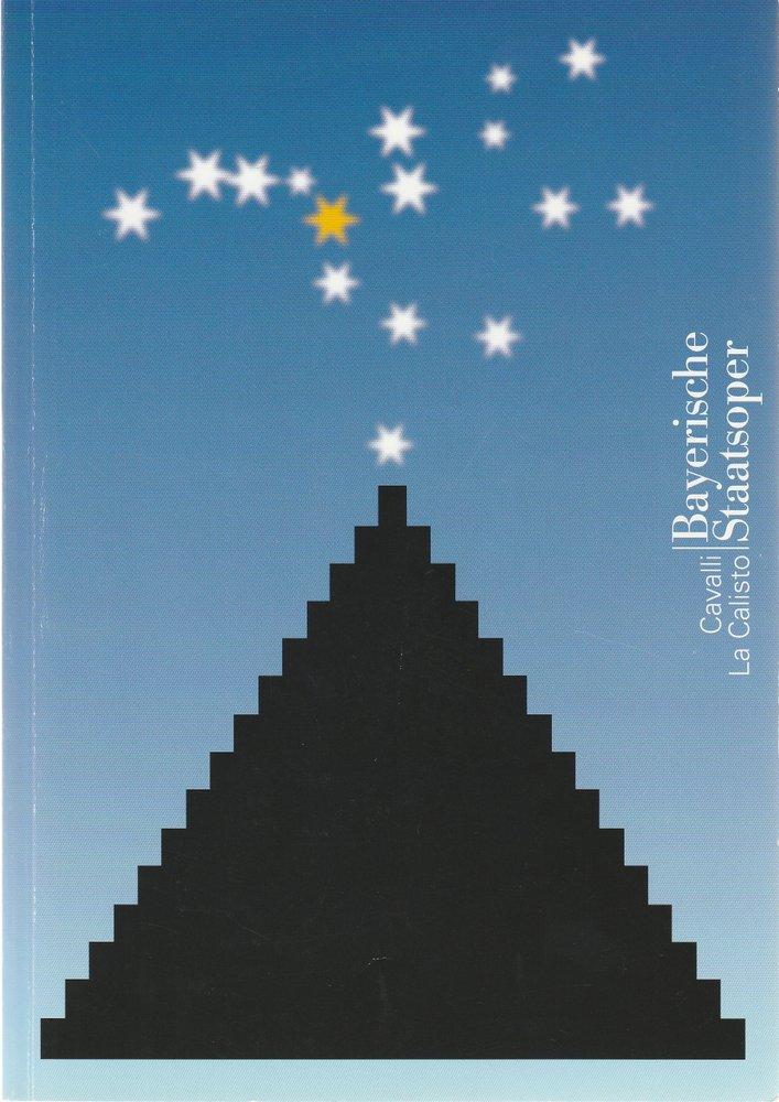 Programmheft Francesco Cavalli LA CALISTO Bayerische Staatsoper 2005