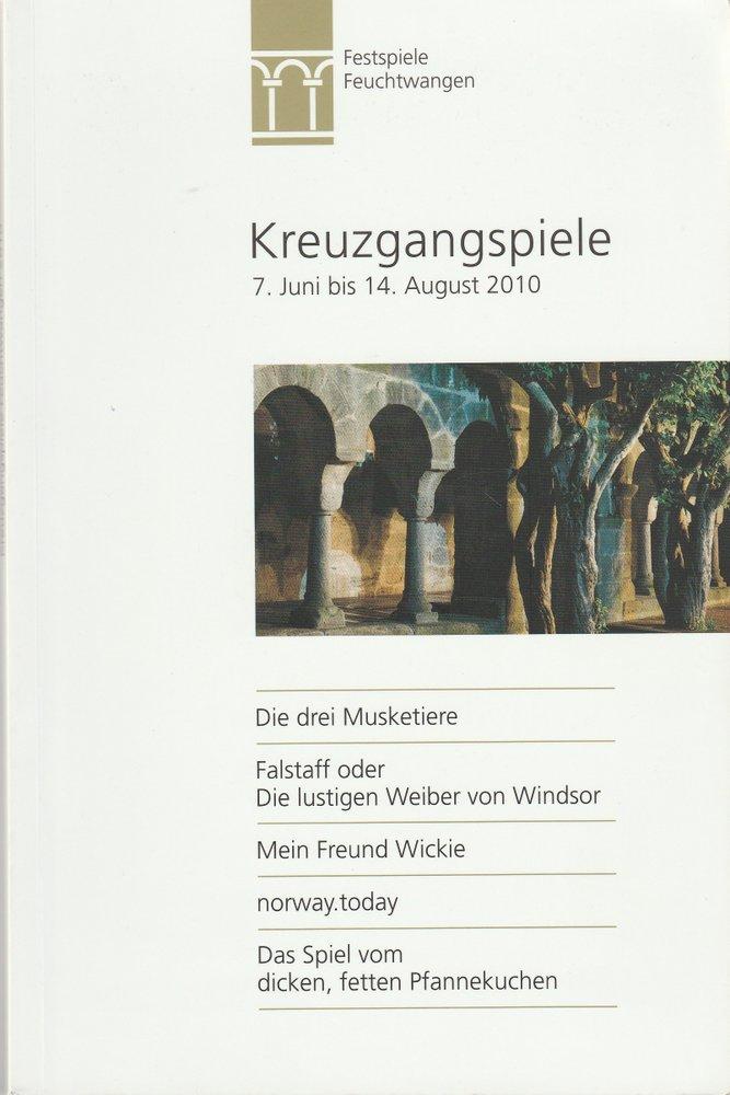 Programmheft KREUZGANGSPIELE FEUCHTWANGEN  2010