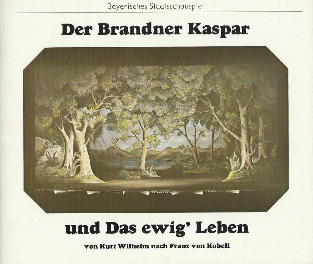 Der Brandner Kaspar und das ewig' Leben München 1975