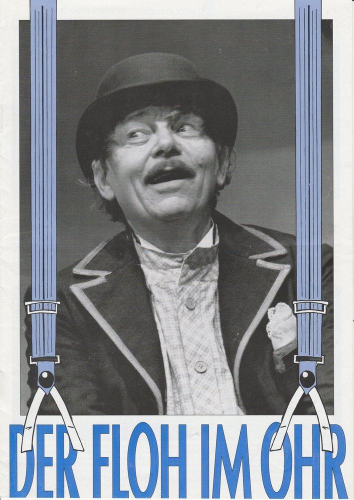 Programmheft Der Floh im Ohr Theater am Kurfürstendamm 1996