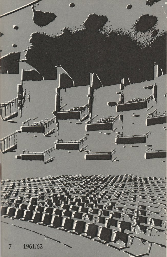 Programmheft Richard Strauss CAPRICCIO Bühnen Köln 1962