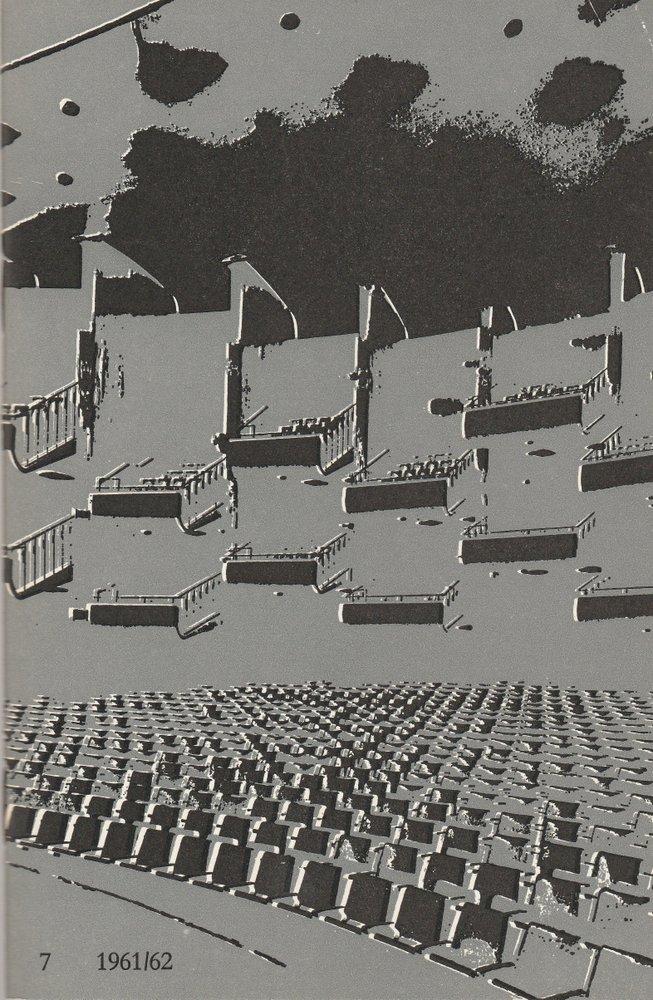 Programmheft VIERTER BALLETT-ABEND Bühnen Köln 1962