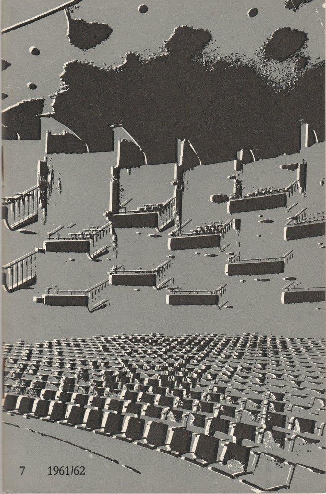 Programmheft Giuseppe Verdi SIMONE BOCCANEGRA Bühnen der Stadt Köln 1962