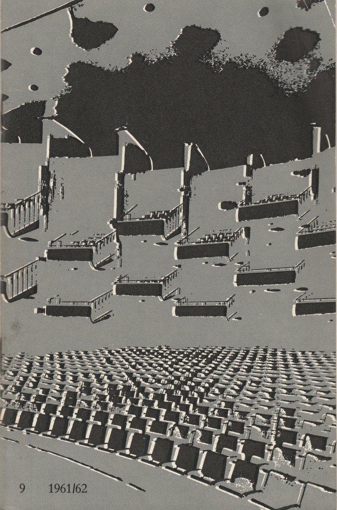Programmheft FÜNFTER BALLETT-ABEND Bühnen der Stadt Köln 1962