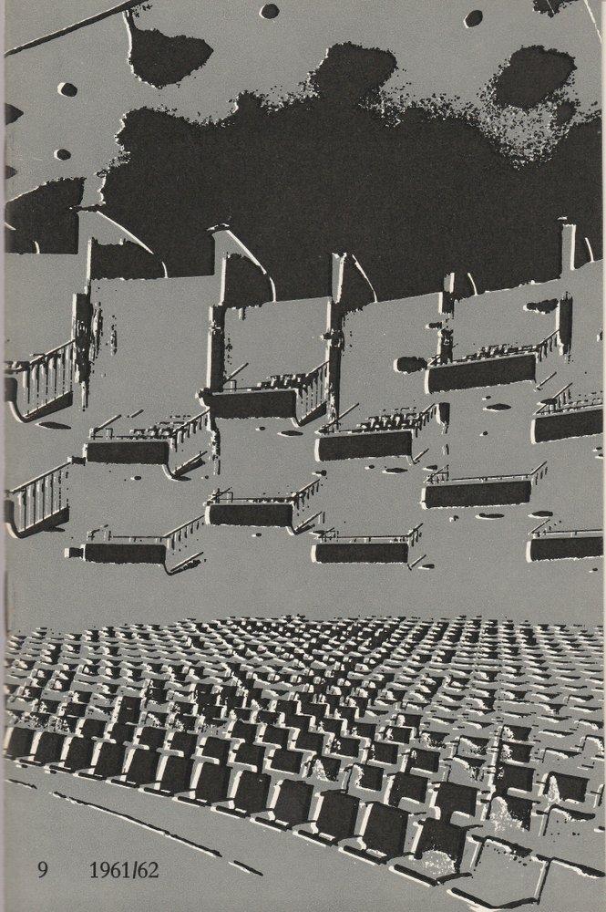 Programmheft Giuseppe Verdi LA TRAVIATA Bühnen der Stadt Köln 1962