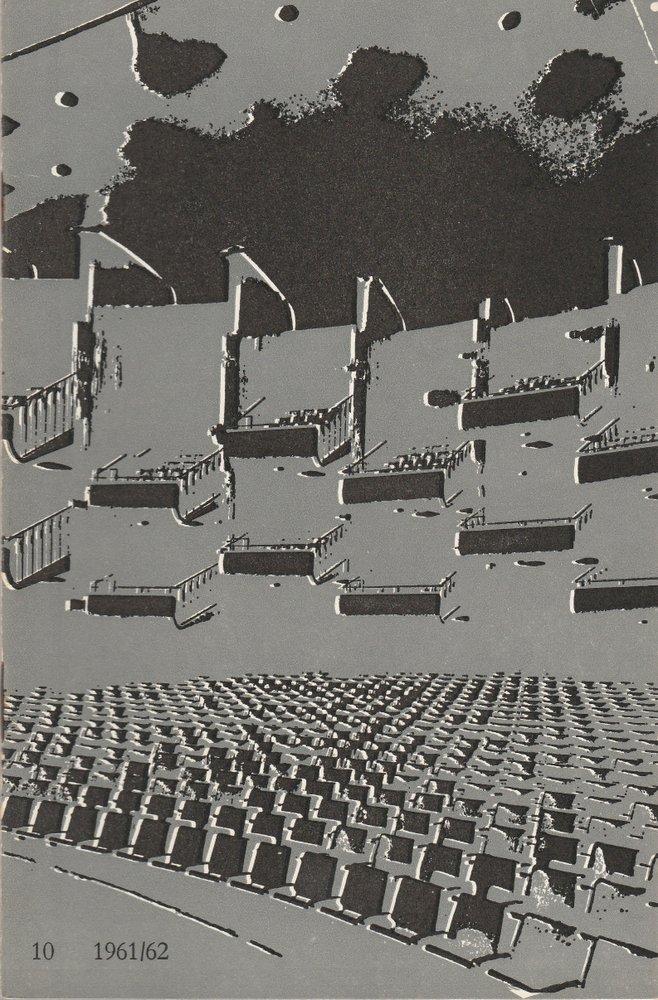 Programmheft Giacomo Puccini TOSCA Bühnen der Stadt Köln 1962