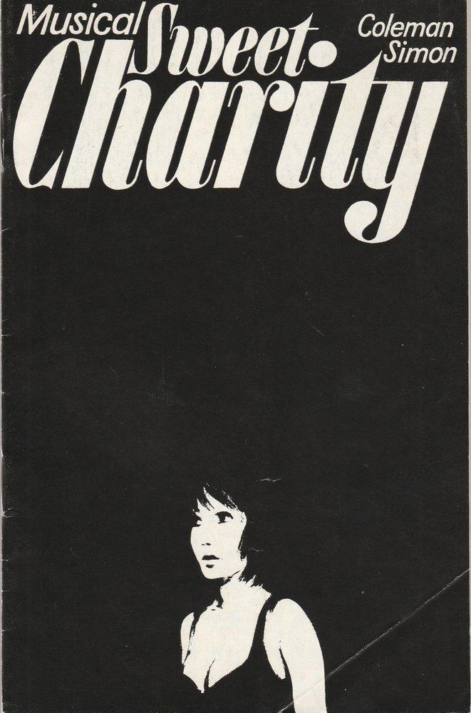 Programmheft Cy Coleman / Neil Simon SWEET CHARITY Metropol-Theater 1975