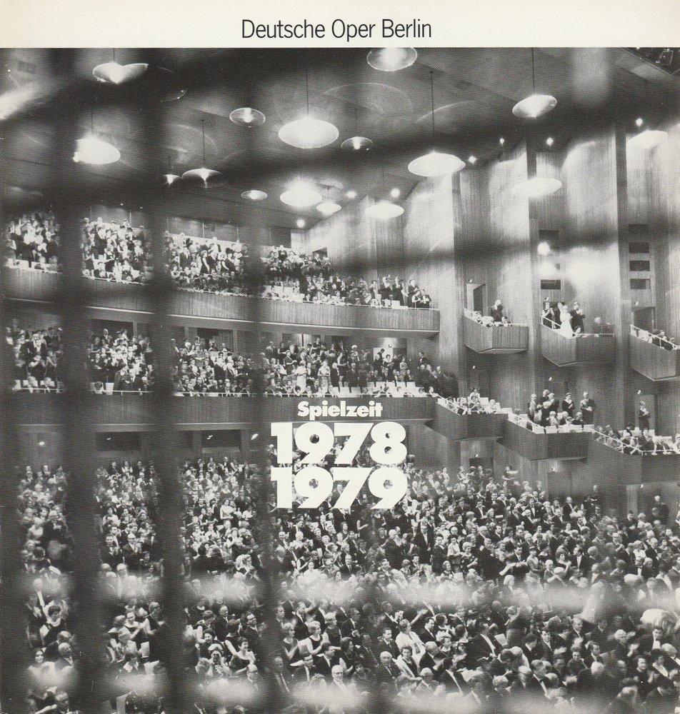 Deutsche Oper Berlin Spielzeit 1978 / 79