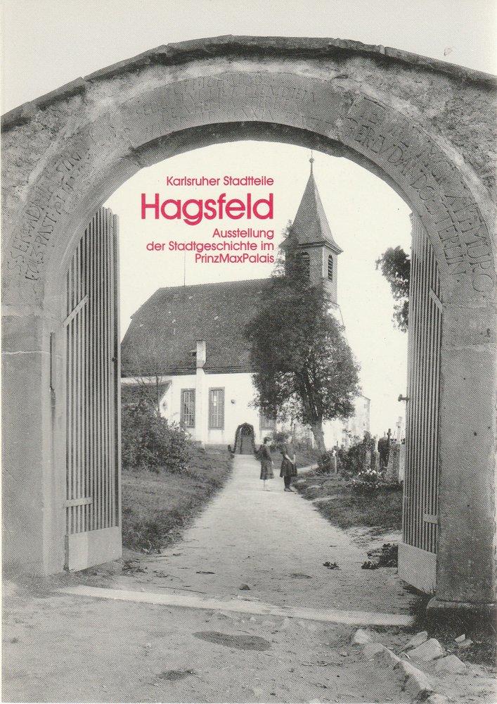 Karlsruher Stadtteile HAGSFELD 1988