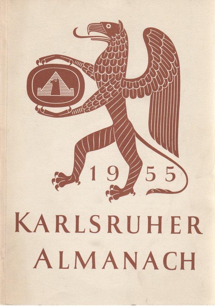 Almanach der Karlsruher Lebensversicherung A.-G. 1955