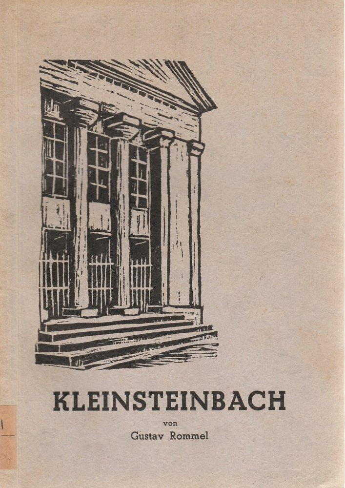 Rommel Gustav KLEINSTEINBACH 1951