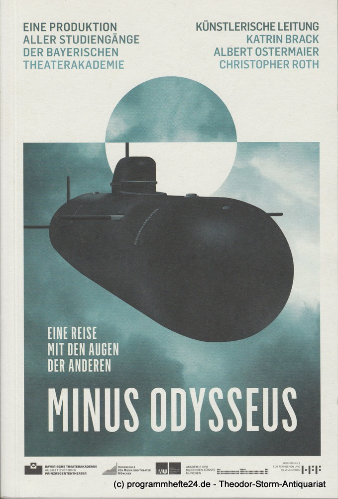 Programmheft MINUS ODYSSEUS. Bayerische Theaterakademie August Everding 2010