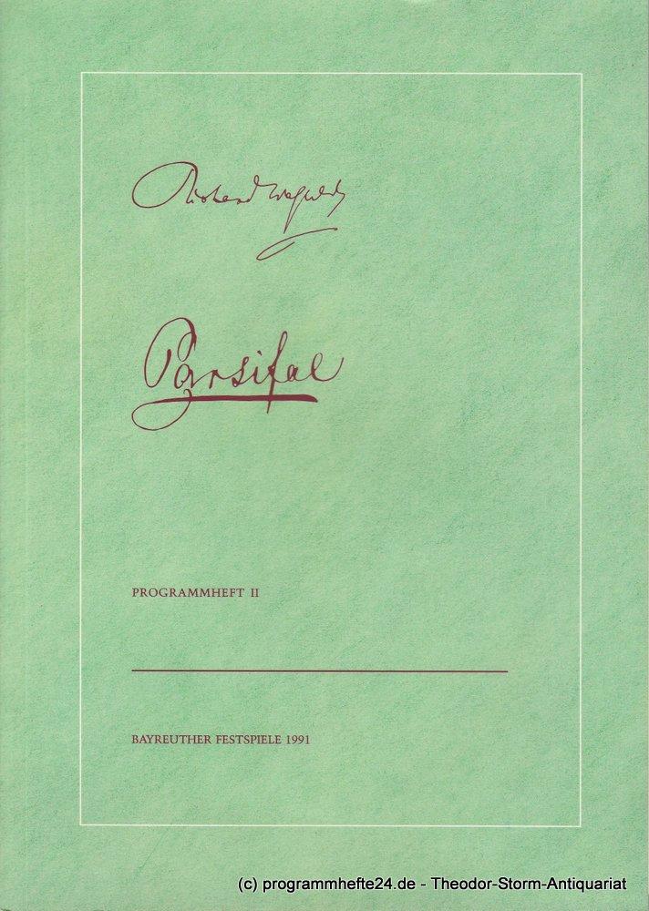 Programmheft Pasrifal. Bayreuther Festspiele 1991 Heft II