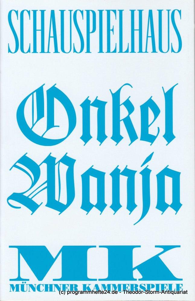 Programmheft Onkel Wanja von Anton Tschechow Münchner Kammerspiele 2013