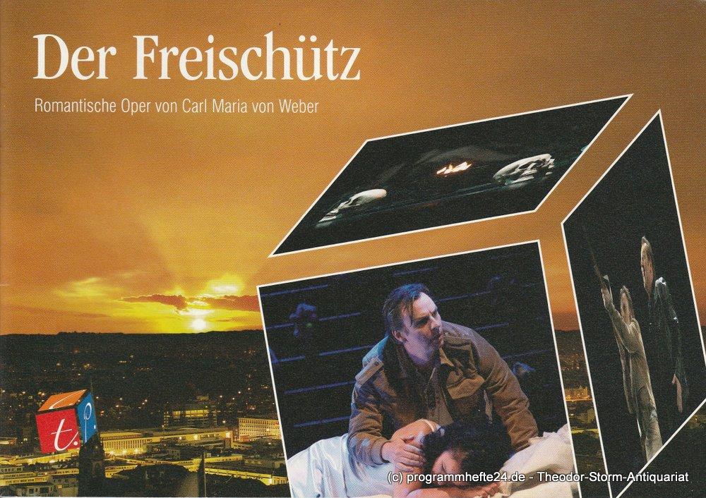 Programmheft Der Freischütz Theater Hagen 2010