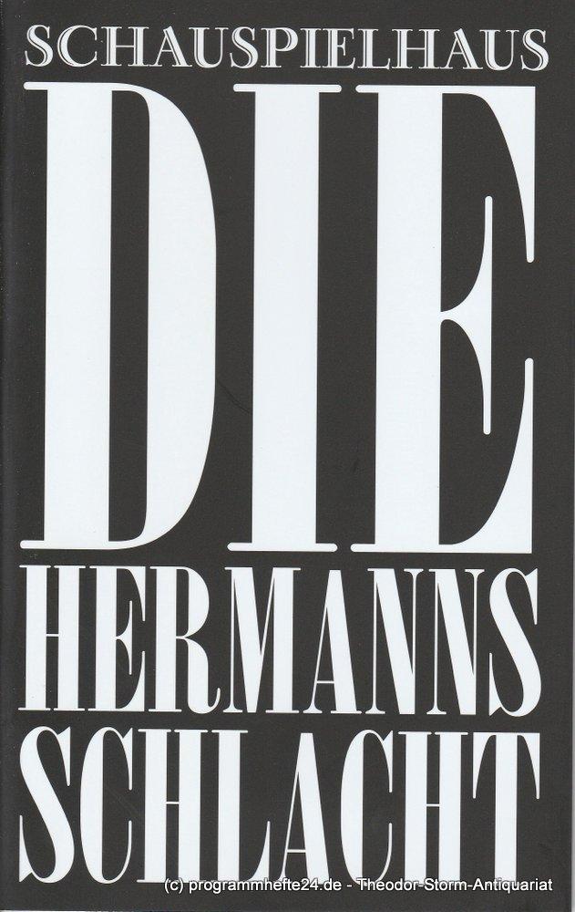 Programmheft Die Hermannsschlacht Schauspielhaus München 2010