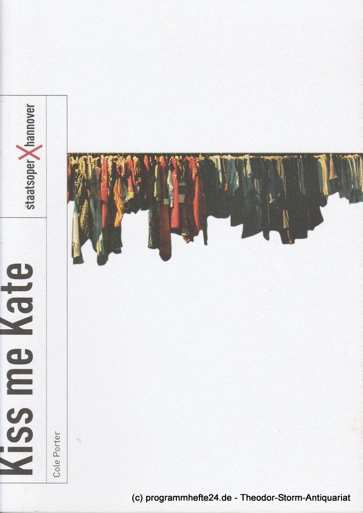 Programmheft KISS ME, KATE Cole Porter Staatsoper Hannover 2012