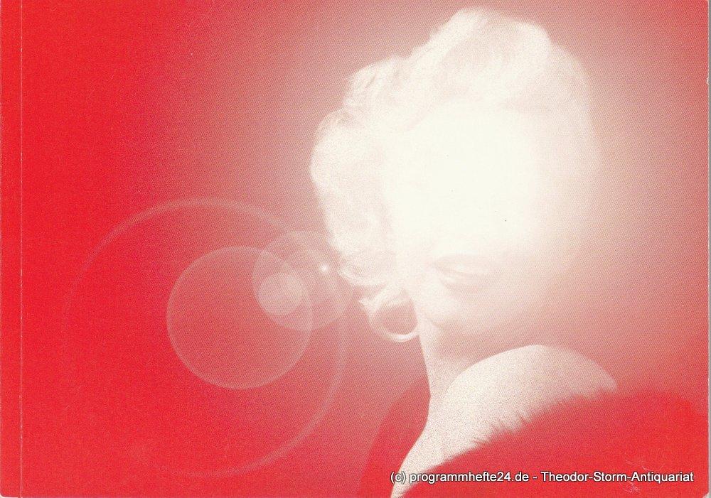 Programmheft 79 Zur Uraufführung marilyn - das musical München 2006