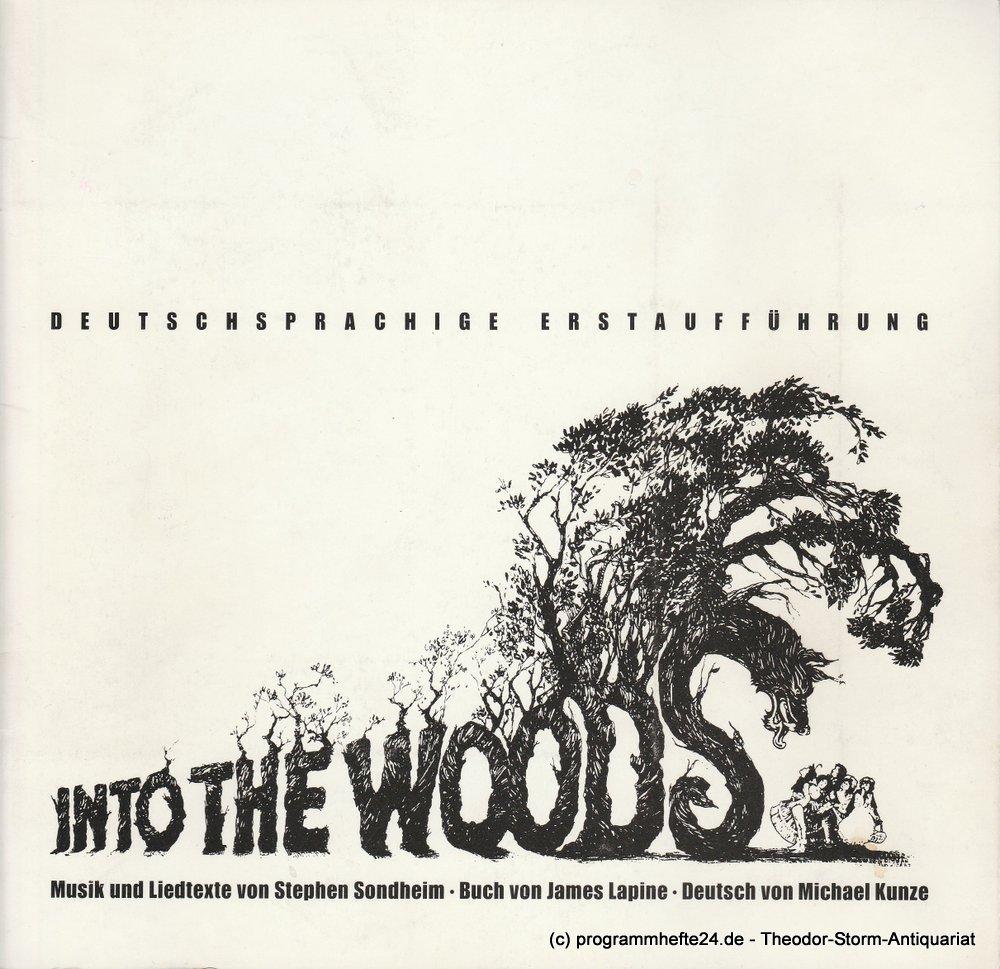 Programmheft Into The Woods Theater Heilbronn 1990