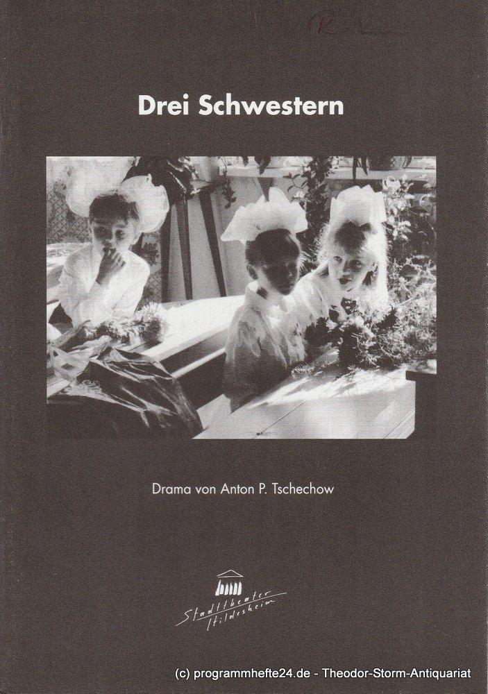 Programmheft Drei Schwestern von Anton Tschechow Hildesheim 2000