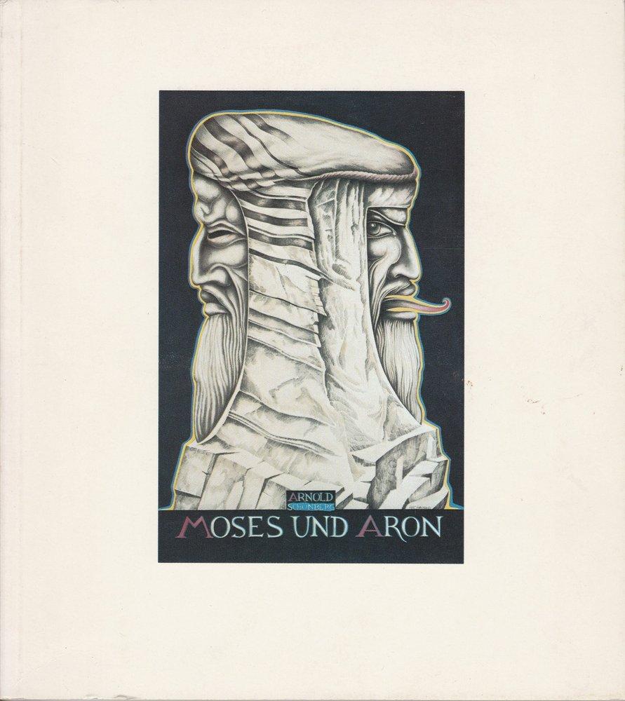 Programmheft MOSES UND ARON von Arnold Schönberg. Münchner Opernfestspiele 1982